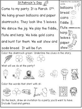 Read and Respond March {Comprehension Texts}