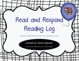 Read and Respond Reading Log