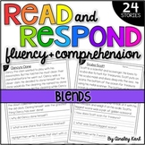 Phonics Reading Passages - Fluency and Comprehension - Beginning Blends