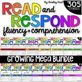 GROWING BUNDLE Phonics Reading Passages for Fluency & Comp