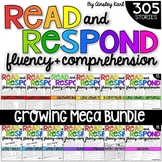 GROWING BUNDLE Phonics Reading Passages for Fluency & Comp