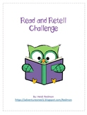 Read and Retell Challenge