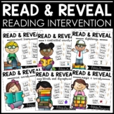 Reading Intervention {Read and Reveal Bundle}