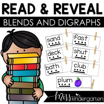 Blends and Digraphs {Read and Reveal}