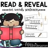 Simple Sentences Activities (Read and Reveal CVC words)
