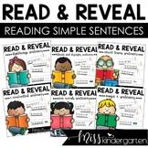 Read and Reveal Simple Sentences {BUNDLE}