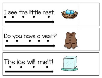 Simple Sentences | Sight Word Sentences with Blends and Digraphs
