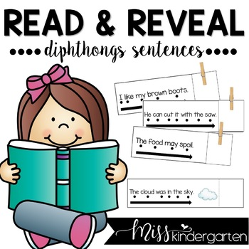 Read and Reveal Simple Sentences {diphthongs}