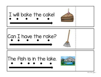 Read and Reveal Simple Sentences {magic e words}