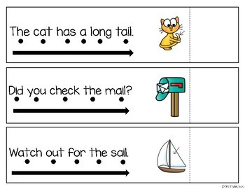 Read and Reveal Simple Sentences {vowel teams}