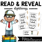 Diphthong Activities Read and Reveal