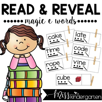 Magic e Words {Read and Reveal}