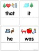 Sight Word Practice Read and Reveal Cards