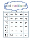 Roll and Read CVC- FREEBIE
