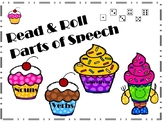 Read and Roll Part of Speech Dice Activity
