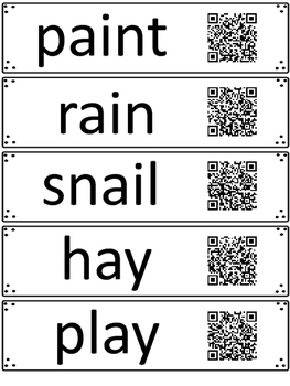 Read and Scan: Sounding Out Words Using QR Codes