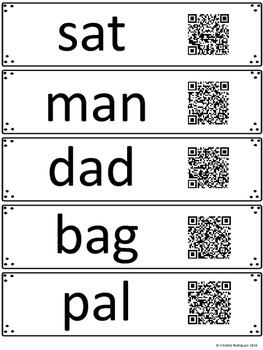 Read and Scan: Sounding Out Words Using QR Code Images Sampler