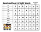 Read and Search Sight Words - Dolch Pre-Primer Words - Wor