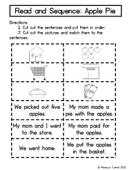 Read and Sequence Freebie