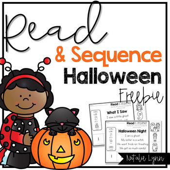 Read and Sequence Halloween