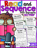 Read and Sequence with Digraphs NO PREP Set 3 Google Classroom Distance Learning