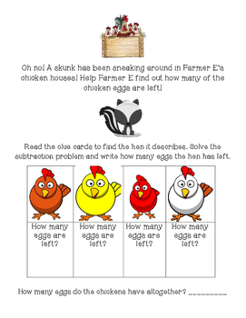 Read and Solve- Help Farmer E!