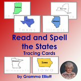States of U.S. Tracing Cards