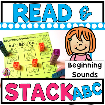 Read and Stack (Alphabet Version) Whole Group or Alphabet CENTER Activity