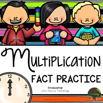 Multiplication Facts Practice (Times Tables Multiplication