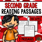Second Grade Reading Comprehension Passages and Questions (FREE SAMPLE)