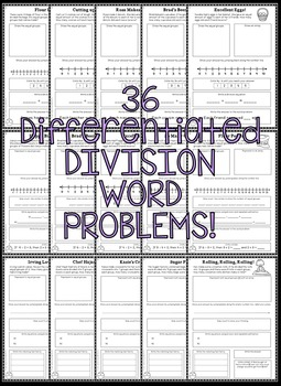 Multiplication & Division Worksheets - Multiplication and Division Word Problems