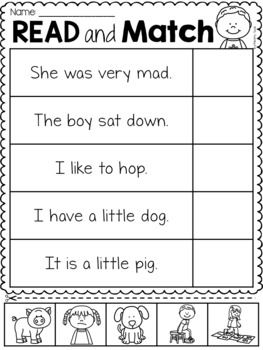 Read and Understand Worksheet Pack
