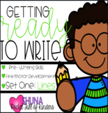 Getting Ready to Write 1 {A Fine Motor Center}