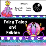 Read and Write About Folktales, Fables and Fairy Tales 2nd and 3rd Grade