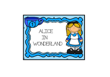 Read and Write Around the Room Alice in Wonderland