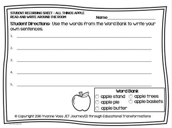 Read and Write Around the Room All Things Apple