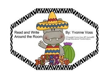 Read and Write Around the Room Cinco de Mayo