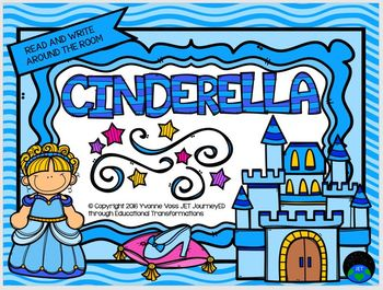 Read and Write Around the Room Cinderella