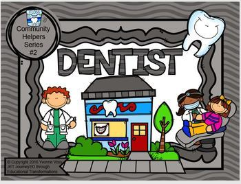Read and Write Around the Room Community Helpers Series #2 Dentist