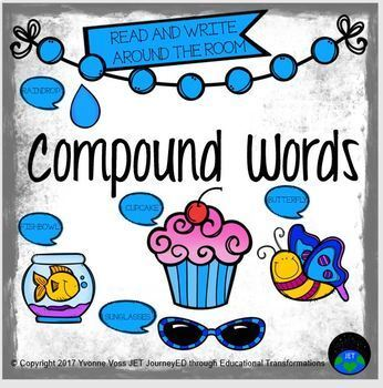 Read and Write Around the Room Compound Words