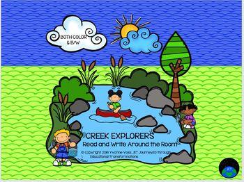 Read and Write Around the Room Creek Explorers