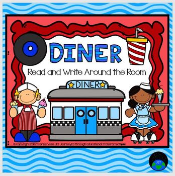 Read and Write Around the Room Diner