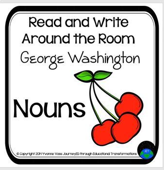 Read and Write Around the Room George Washington Nouns