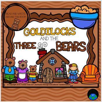 Read and Write Around the Room Goldilocks and the Three Bears