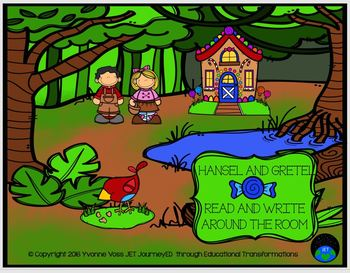 Read and Write Around the Room Hansel and Gretel