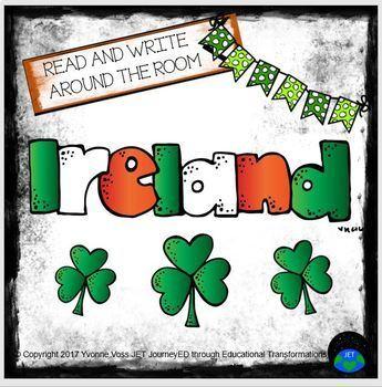 Read and Write Around the Room Ireland