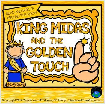 Differentiated Read and Write Around the Room King Midas and the Golden Touch