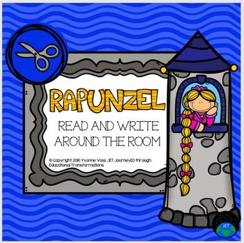 Read and Write Around the Room Rapunzel