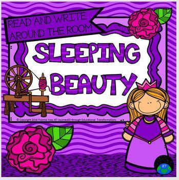 Read and Write Around the Room Sleeping Beauty