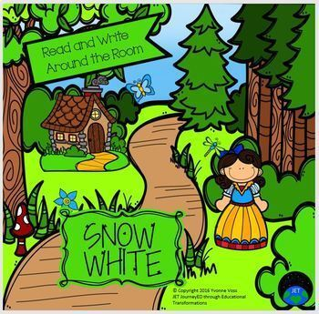 Read and Write Around the Room Snow White